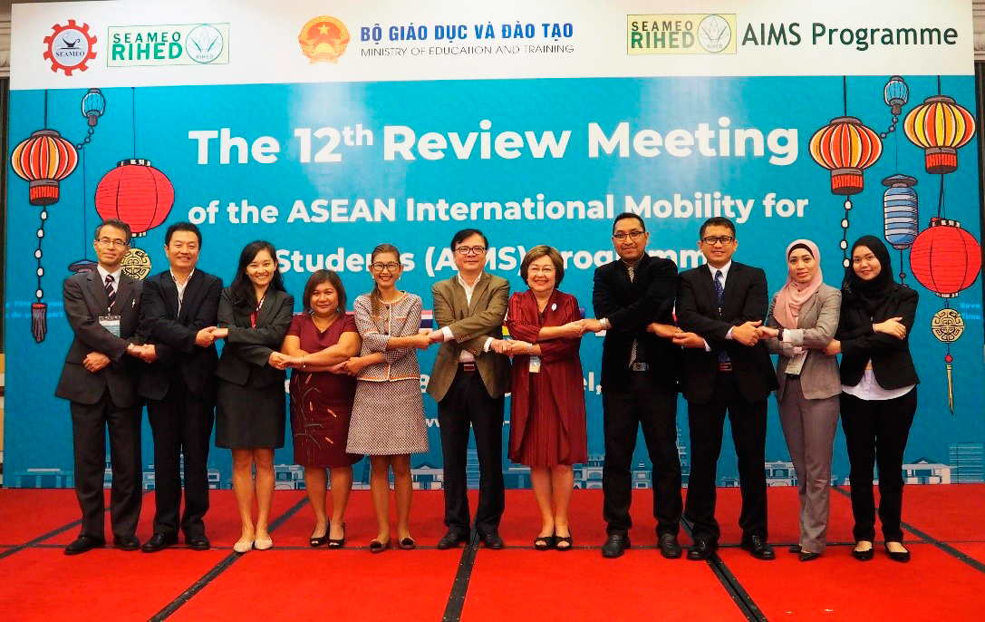 The 12th AIMS Annual Review Meeting | SEAMEO RIHED
