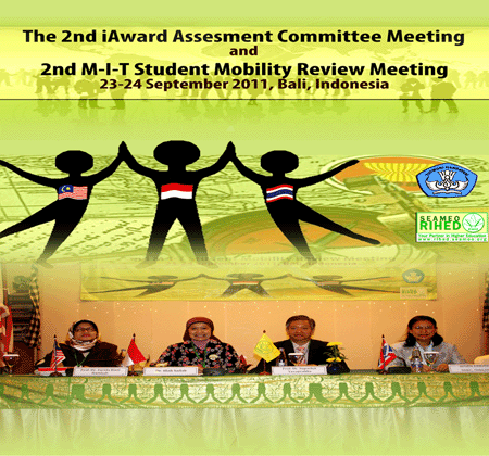 The 2nd iAward Assessment Committee Meeting and 2nd M-I-T Student Mobility Program Review Meeting